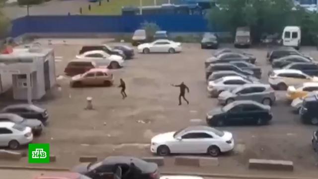 После перестрелки на юге Москвы задержаны девять человек.Москва, задержание, оружие, полиция, стрельба.НТВ.Ru: новости, видео, программы телеканала НТВ