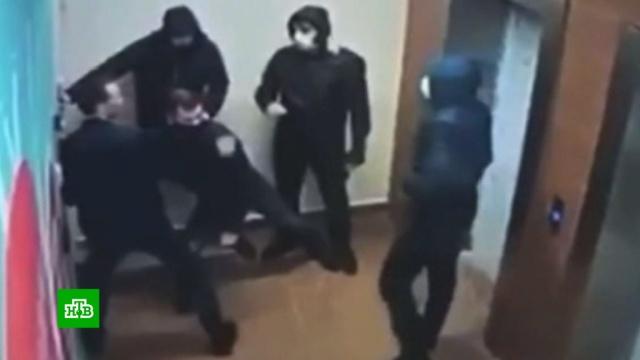 Задержание участников перестрелки на юге Москвы.Москва, оружие, полиция, стрельба.НТВ.Ru: новости, видео, программы телеканала НТВ