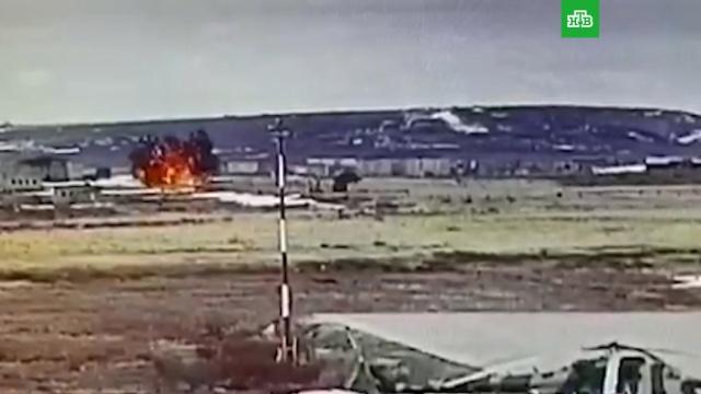 Ми-8 на Чукотке взорвался после удара о землю.Чукотка, авиационные катастрофы и происшествия, вертолеты.НТВ.Ru: новости, видео, программы телеканала НТВ