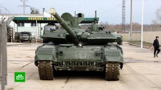 В Подмосковье готовят военную технику к июньскому параду Победы