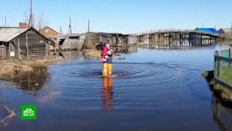 Четыре района Вологодской области ушли под воду