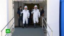 Системы Crew Dragon готовы к историческому пилотируемому полету.Илон Маск, МКС, НАСА, космонавтика, космос.НТВ.Ru: новости, видео, программы телеканала НТВ