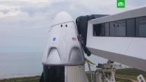 Трамп обещает приехать на мыс Канаверал в день старта Crew Dragon.Илон Маск, США, запуски ракет.НТВ.Ru: новости, видео, программы телеканала НТВ
