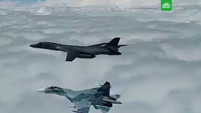Истребители ВКС заставили американских пилотов повернуть от границ РФ.Балтика, Чёрное море, авиация, армия и флот РФ, самолеты.НТВ.Ru: новости, видео, программы телеканала НТВ