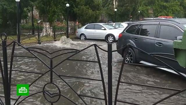 Москва приходит в себя после рекордного ливня.Москва, погода, рекорды.НТВ.Ru: новости, видео, программы телеканала НТВ