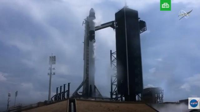 Crew Dragon вкосмосе: полное видео запуска.Илон Маск, НАСА, космонавтика, космос, технологии.НТВ.Ru: новости, видео, программы телеканала НТВ