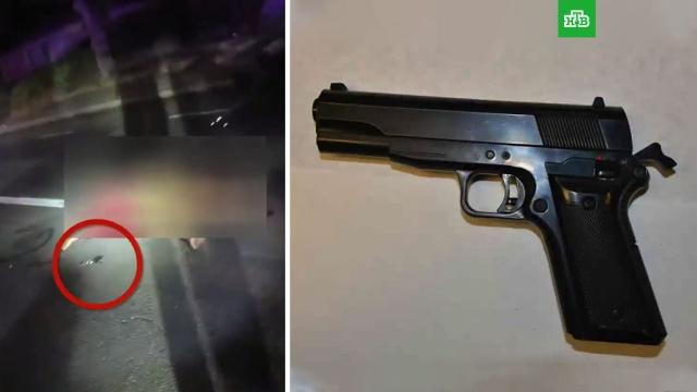 ВСША полицейские застрелили мужчину смуляжом пистолета.США, оружие, полиция, стрельба, убийства и покушения.НТВ.Ru: новости, видео, программы телеканала НТВ