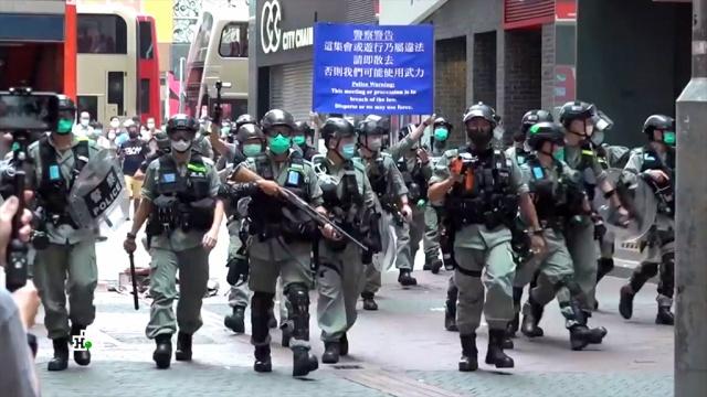 Биржи замерли вужасе: кризис вГонконге поставил под удар экономический миропорядок.Гонконг, Китай, США, биржи, санкции, экономика и бизнес.НТВ.Ru: новости, видео, программы телеканала НТВ