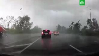 По Белгородской области прошелся мощный ураган