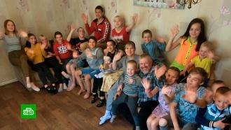 ВЛипецкой области для обратившейся кПутину многодетной семьи построили мастерскую