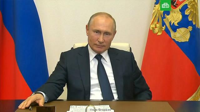 Голосование по поправкам вКонституцию пройдет 1июля.Путин, законодательство, конституции, коронавирус, эпидемия.НТВ.Ru: новости, видео, программы телеканала НТВ