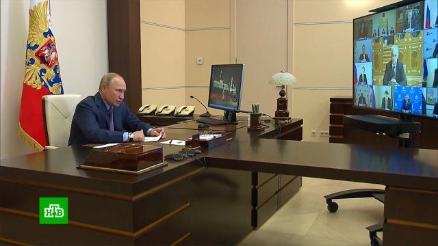 Бизнесмен предложил президенту сшить ему спортивный костюм.Путин, промышленность.НТВ.Ru: новости, видео, программы телеканала НТВ