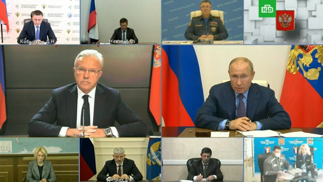 «У вас все впорядке со здоровьем?»: Путина возмутила реакция властей на ЧП вНорильске.НТВ.Ru: новости, видео, программы телеканала НТВ