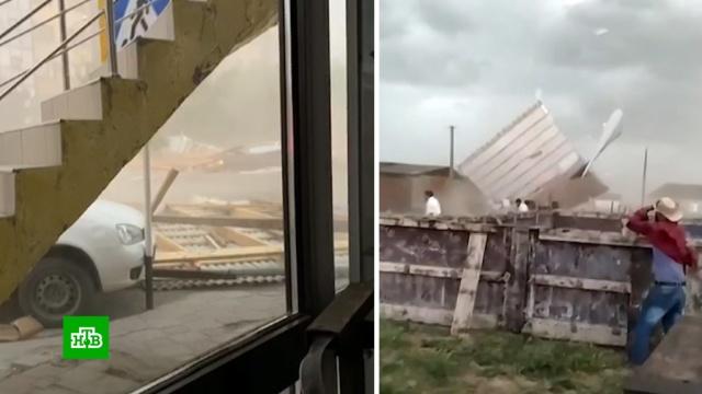ВЧечне устраняют последствия урагана.Грозный, Чечня, аварии в ЖКХ, штормы и ураганы, электростанции.НТВ.Ru: новости, видео, программы телеканала НТВ