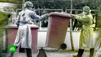 Чем опасны неправильно выброшенные маски иперчатки