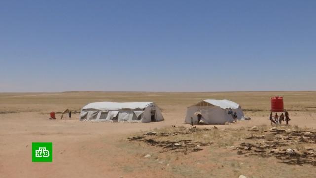 «Нет ни еды, ни воды»: выбравшиеся из лагеря «Рукбан» сирийцы рассказали ожизни вневоле.Сирия, беженцы, войны и вооруженные конфликты.НТВ.Ru: новости, видео, программы телеканала НТВ