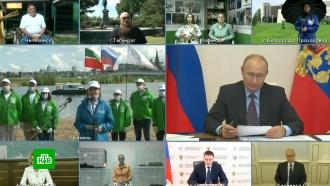 «Ни рубля бюджетных средств»: Путину доложили оликвидации ЧП вНорильске