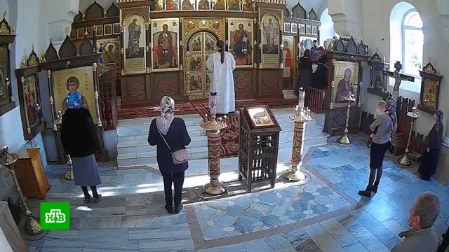 ВМоскве накануне Троицы открываются все храмы.карантин, коронавирус, православие, религия, эпидемия.НТВ.Ru: новости, видео, программы телеканала НТВ