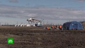 Под Норильском собрали почти 3000кубометров нефтепродуктов