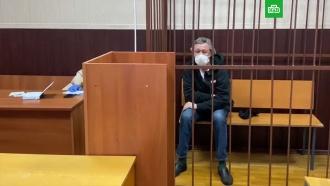 Ефремов кивнул головой в ответ на вопрос о признании вины