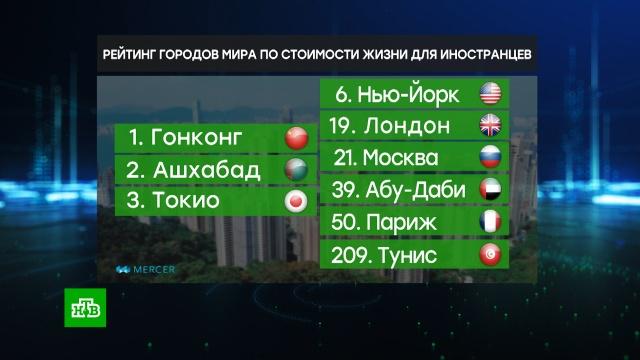 Гонконг удерживает лидерство в рейтинге самых дорогих городом для иностранцев.Москва, иностранцы, рейтинги.НТВ.Ru: новости, видео, программы телеканала НТВ