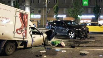 МВД: Ефремов вмомент аварии был вмашине один