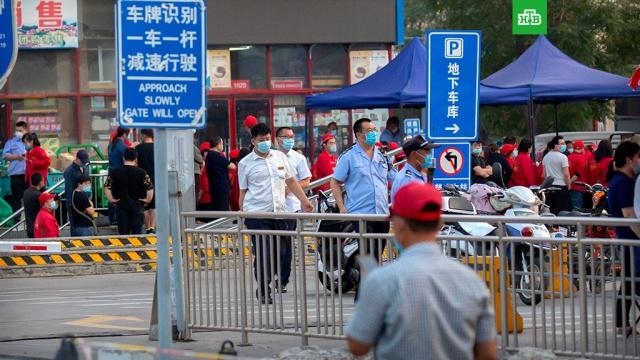 На юге Пекина введен режим военного положения из-за вспышки коронавируса.Китай, Пекин, коронавирус, эпидемия.НТВ.Ru: новости, видео, программы телеканала НТВ