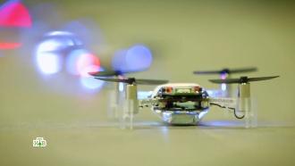 Рой миниатюрных дронов для оперативного сбора данных от инженеров МАИ
