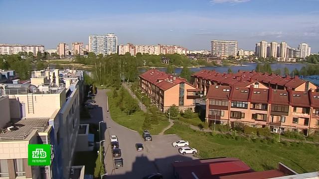 Петербуржцы пытаются не допустить застройки прибрежного парка в Озерках.Санкт-Петербург, реки и озера, строительство.НТВ.Ru: новости, видео, программы телеканала НТВ