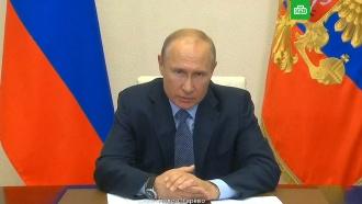 Путин: «Норникель» обязан устранить ущерб от разлива топлива вКрасноярском крае