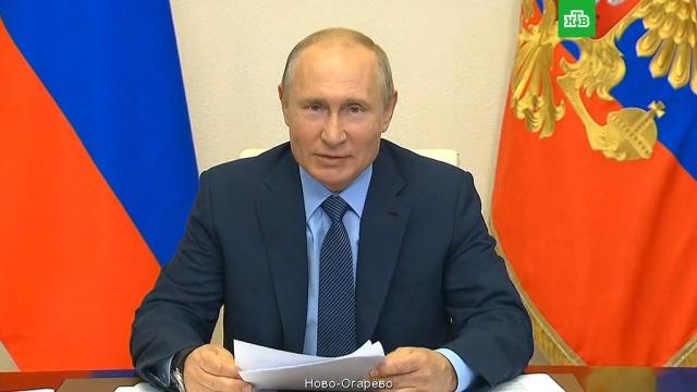 Путин призвал «задавить» коронавирус врегионах.Путин, болезни, врачи, коронавирус, эпидемия.НТВ.Ru: новости, видео, программы телеканала НТВ