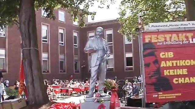 На западе Германии установили первый памятник Ленину: видео.Германия, Ленин, памятники.НТВ.Ru: новости, видео, программы телеканала НТВ