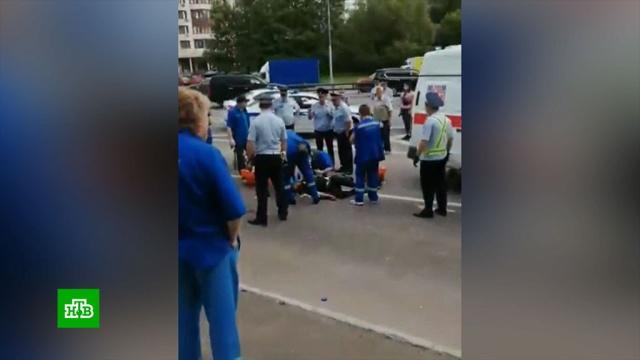 Стрелявший по полицейским вМоскве умер вбольнице.Москва, полиция, стрельба.НТВ.Ru: новости, видео, программы телеканала НТВ