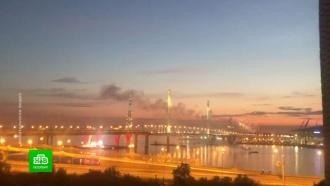 ВФинском заливе репетируют грандиозное шоу «Алые паруса»