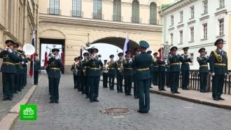 «Бессмертный оркестр» сыграл вчесть парада Победы