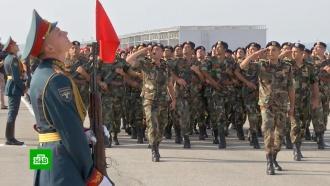 Авиабаза Хмеймим вСирии готова кпараду вчесть <nobr>75-летия</nobr> Победы