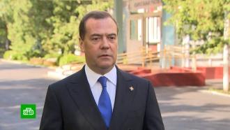 Медведев проголосовал по поправкам кКонституции