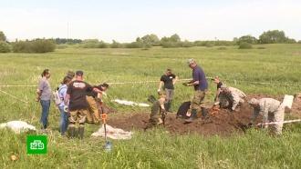 ВБелоруссии подняли из земли обломки сбитого в1943году штурмовика <nobr>Ил-2</nobr>