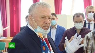 «Это капитальный ремонт»: Жириновский проголосовал по поправкам вКонституцию