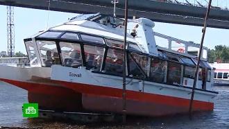 Первое в России пассажирское электросудно сошло на воду