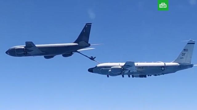 Минобороны показало перехват самолетов США над Чёрным морем.США, Чёрное море, авиация, армии мира, армия и флот РФ.НТВ.Ru: новости, видео, программы телеканала НТВ