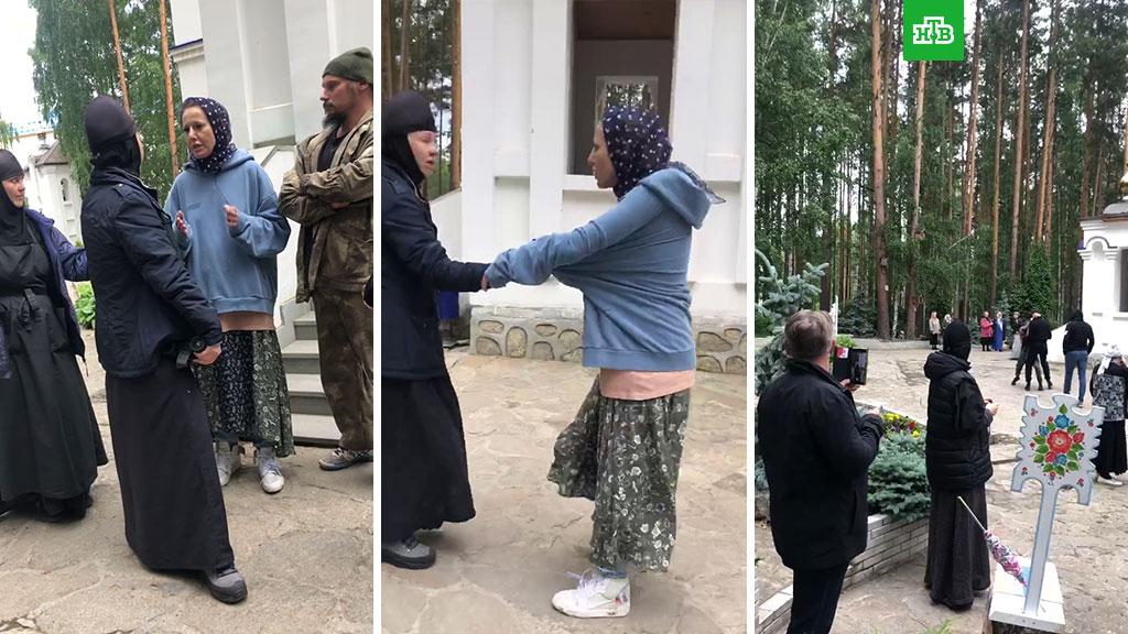 Потасовка с участием Собчак в среднеуральском женском монастыре