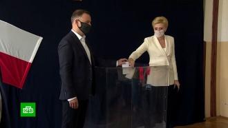Выборы президента Польши: Дуда иоппозиционер Тшасковский выходят во второй тур