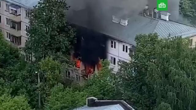 Взрыв прогремел вжилом доме на северо-востоке Москвы.НТВ.Ru: новости, видео, программы телеканала НТВ