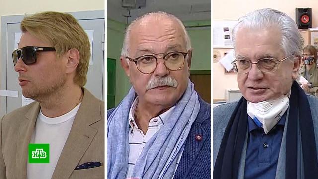 Басков, Михалков иПиотровский рассказали, как проголосовали по поправкам.Басков, Михалков, артисты, выборы, знаменитости, конституции.НТВ.Ru: новости, видео, программы телеканала НТВ