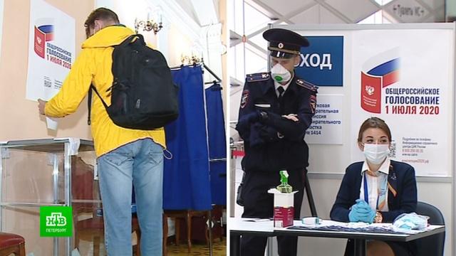 Как организовано голосование по поправкам для гостей Петербурга.Санкт-Петербург, выборы, конституции.НТВ.Ru: новости, видео, программы телеканала НТВ