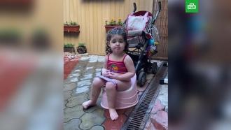 Виторгана обругали за неэтичное видео с<nobr>2-летней</nobr> Этель на горшке