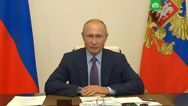 Путин поблагодарил россиян за доверие.выборы, конституции, Путин.НТВ.Ru: новости, видео, программы телеканала НТВ