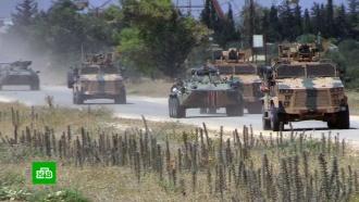 Российские итурецкие военные обследовали участок сирийской трассы <nobr>М-4</nobr>