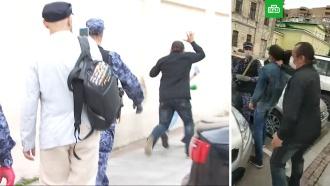 Активист «Голоса» Удот снова напал на журналистов НТВ